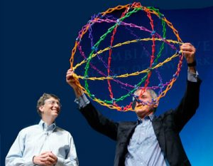 Hoberman Sphere and Bill Gates